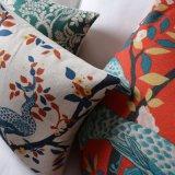 Almofadas de algodão com desconto de linho de algodão para sofá