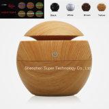 130ml球形の木USBの超音波空気加湿器の香りの拡散器
