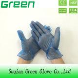 Blue Housework Limpieza guantes de protección desechables de PVC para uso familiar