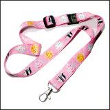 Colhedor feito sob encomenda de transferência logotipo Sublimated/térmico da tintura bonito do inclinação da cor-de-rosa do divertimento para meninas