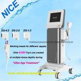 Máquina de aperto de pele Hifu para Mulheres Rhytidectomy Facial e elevação de rosto