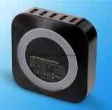 5 het Laden van Havens USB Post MultiLader voor Smartphone en Lijsten