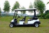 4 plazas con pilas del coche de golf
