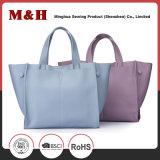 Große Kapazitäts-Form-chinesische Art-Ledertote-Handtaschen