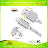 iPhoneの充電器USBケーブルのための金属の充満ケーブル