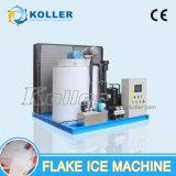 5000kg Máquina de gelo em flocos seco e limpo para pescaria