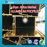 Profilo di alluminio per il portello della finestra della Libia Liberia con il prezzo poco costoso