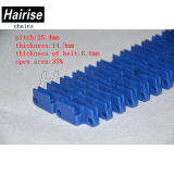 Hairise Perforated Ribbed Rib Flush Grid Modular Conveyor Belt