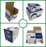 De AutoVervangstukken die van het document Vakje met de Druk van de Douane inpakken
