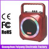 多彩なLEDライトが付いているFeiyang/Temeisheng小型再充電可能なBluetoothの実行中のスピーカー --F105s