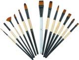 La peinture acrylique Brosses pour débutants férule en laiton