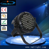 Haute qualité 54 * 3W Indoor RGBW PAR 64 LED Stage Lighting