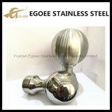 柵のための明るいステンレス鋼の上の球