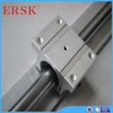 Arbre linéaire de cylindre linéaire en aluminium de supports