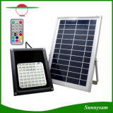 56 LEDs IP65 impermeable reflector solar de control remoto de color cambiante jardín jardín patio decorativo Spotlight