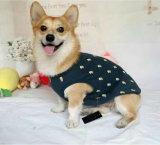 Le T-shirt estampé mignon d'animal familier pour l'animal familier d'été vêtx des approvisionnements d'animal familier