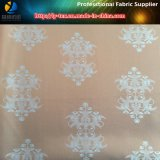 スーツのライニング(6)のためのジャカードが付いているポリエステルあや織りのタフタ