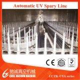 Máquina de revestimento de cura UV Certificated Ce do vácuo para o vácuo ultravioleta dourado dos tampões cosméticos de ABS/PP que metaliza o equipamento