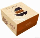 Materiais Eco-Friendly White Card Cake Paper Box