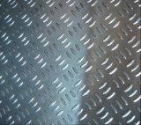 Um1050 1060 1100 3003 3105 5052 Placa Verificador de alumínio/Alumínio Placa de bitola de 5 Bar