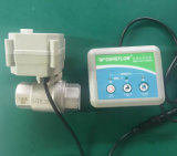 Sistema de detección de fugas de agua con válvula de bola motorizada