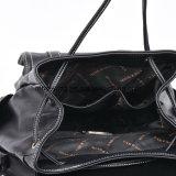 Eleganter PU-Rucksack mit Drawstring-Schliessen