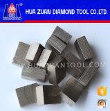 blad van de Zaag van 2500mm het Grote voor het Scherpe Segment van de Diamant van de Hoogste Kwaliteit van het Graniet