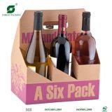 6 de Flessen die van het bier Doos verpakken