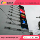 Economia de energia ao ar livre Publicidade comercial grande Instalação fixa Cortina LED