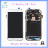 Экран касания LCD агрегата индикаций передвижной клетки франтовской для Samsuny S4 I9505 I9500