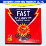Productos vendedores calientes en incienso negro del mosquito de la bobina del mosquito de Nigeria