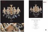 Luxe et de Hot Sale lustre en cristal en alliage de zinc