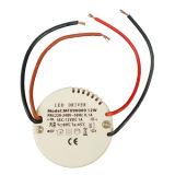 Runder LED Fahrer LED-Stromversorgung Gleichstrom-12V mit 12W