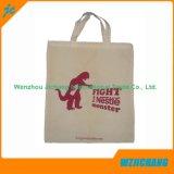 El bolso reciclable barato del algodón de las compras de la alta calidad con la impresión de encargo hizo