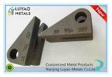 Pieza de acero fundido para la maquinaria con diseño modificado para requisitos particulares