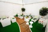 Teepee personnalisé de tentes de Ridge pour l'événement d'usager avec le GV