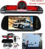 Écran LCD 7 miroir+FEU DE STOP de sauvegarde de la caméra de recul pour Fiat Ducato