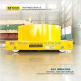 Carrello ferroviario elettrico di trasferimento di maneggio del materiale della guida della guida