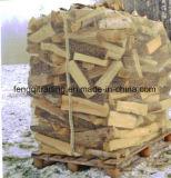Geprüfter Brennholz-grosser Beutel-Ineinander greifen-Beutel-Ineinander greifen-Beutel für Brennholz Nettoverpackenpet Ineinander greifen-Beutel für Verpackungs-Brennholz