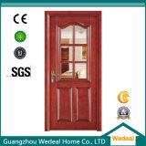 Fester Kern Belüftung-hölzerne zusammengesetzte Tür für Raum/Eingang mit Glas