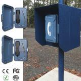 Résistant au vandalisme d'urgence routière Téléphone avec l'énergie solaire, l'autoroute boîte Appel SOS