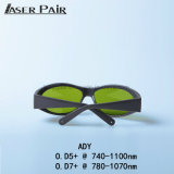 Sicherheits-Schutzbrillen Cer-en-207 Ady 740-1100nm/der Sicherheits-Glassess/Lasersicherheits-Schutzbrillen Laborsicherheits-der Schutzbrille-/Für Sport-Rahmen