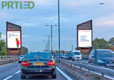 Alto brillo al aire libre P5 / P6 publicidad a todo color de publicidad LED Banner (único / doble cara)