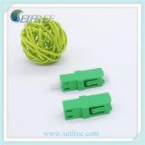 Переходника оптического волокна LC/APC симплексный для оборудования Gpon FTTH оптически