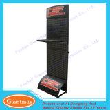 Banco di mostra della scaffalatura di vendita al dettaglio del basamento di Pegboarfloor del metallo