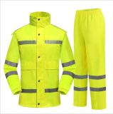 Vestuário de trabalho personalizada refletivo jaqueta de vestuário de segurança