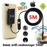 携帯電話のための無線WiFiの内視鏡のカメラの管の点検カメラ。 小型無線内視鏡のカメラ8mm