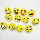 Balle en mousse PU personnalisé Stress PU Drôle de billes de visages pour adulte