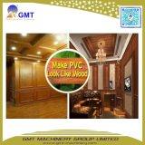 Wood+Plastic 합성 벽면 WPC PVC 클래딩 밀어남 생산 라인