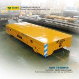 Véhicule plat de transport ferroviaire de remorque d'industrie lourd de 10 tonnes